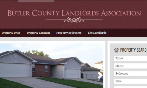 Butler County Landlord Association Screenshot